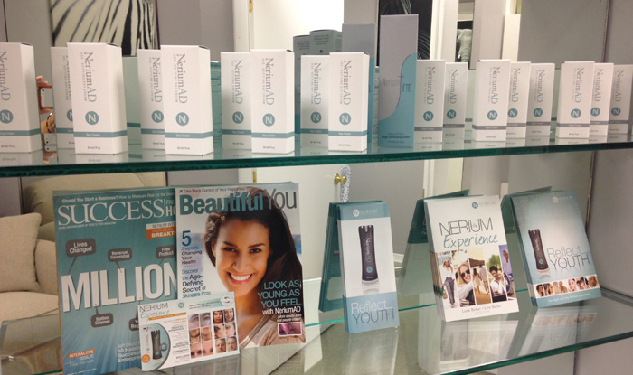 Nerium Facial and Body Products in and near South Fort Myers Florida